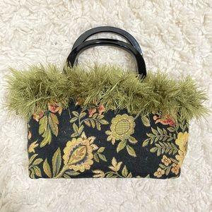 Vintage rug aesthetic purse
